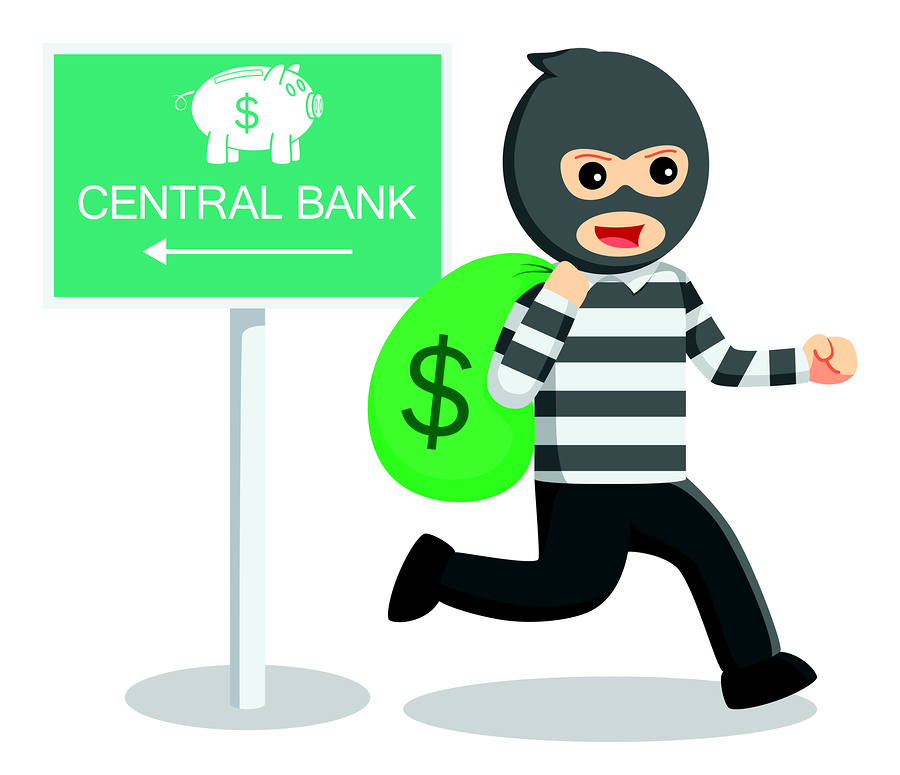 Bank thief illustration  .eps 10 vector illustration flat design