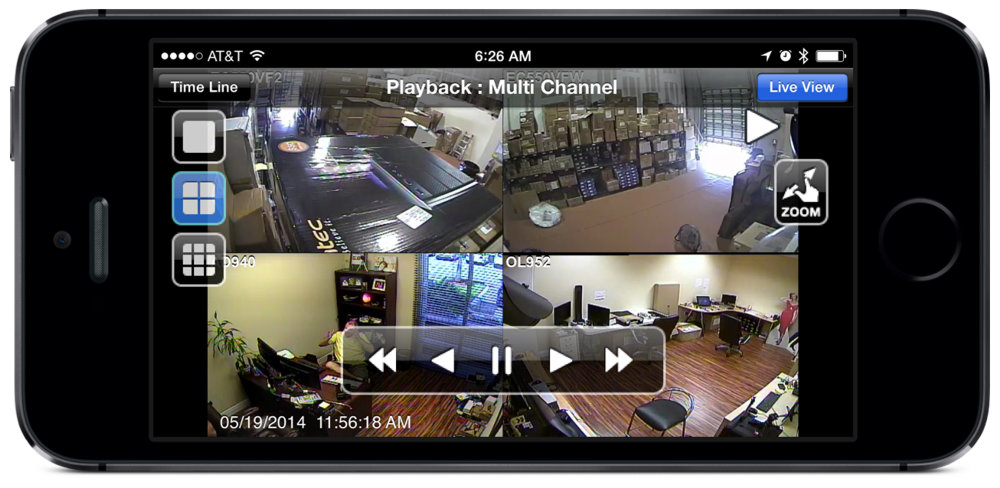 remote video viewing