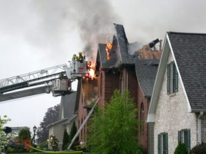 residential-house-on-fire