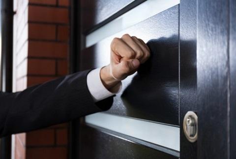 door to door alarm sales