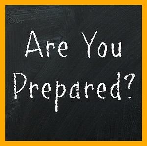 Are You Prepared Sign