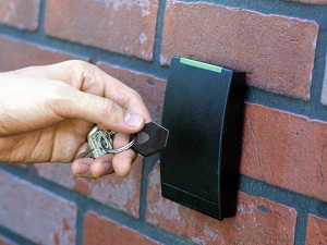 Access Control Fob for a Memory Care Facility
