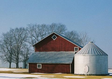 Farm Outbuilding in Illinois