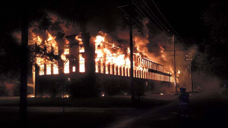 Brown Shoe Factory Fire