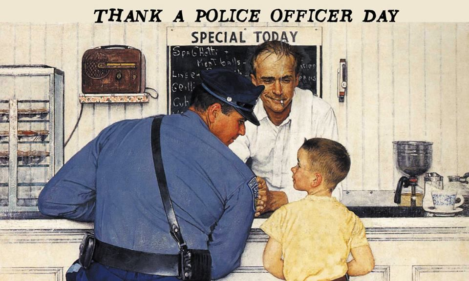 Thanking A Police Officer Coolhdtoday