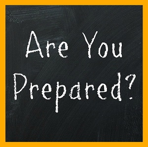Are You Prepared Sign