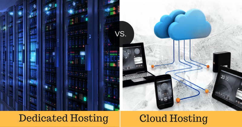 cloud vs. server Access control