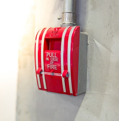 Commercial Fire Alarm Pull Down Feature